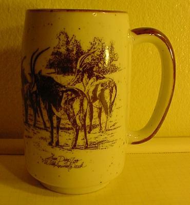 San Diego Zoo Wild Animal Park Stoneware Mug Cup
