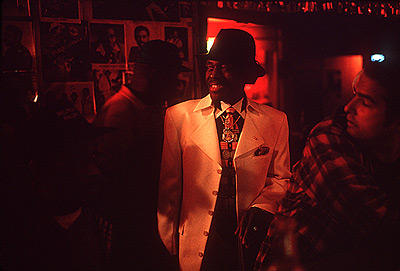 The legendary Junior Wells saunters through Chicago's Checkerboard Lounge
