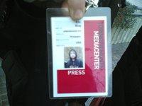 La mejor acreditación de un periodista es su trabajo