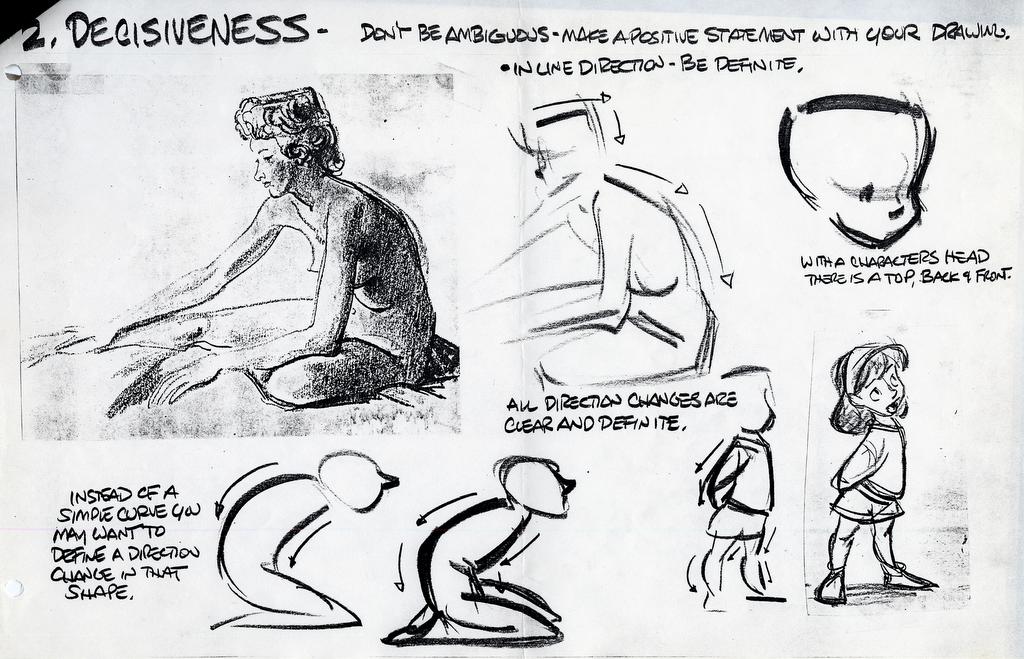 2d Animation Character Design Tutorial Pdf : The art of glen keane keane�s notes