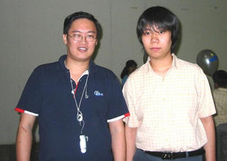 GilaChess and Wang Hao