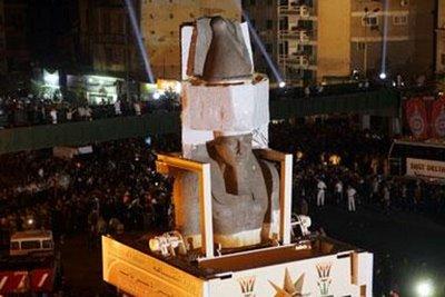 رمسيس يجوب شوارع القاهرة