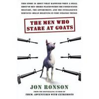 cover of The Men Who Stare at Goats by Jon Ronson