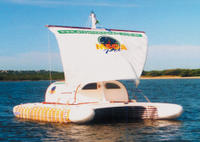 barco do projeto Mega Pet