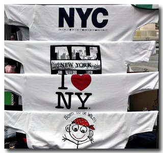 'I Love NY' - Columbus Circle, NYC