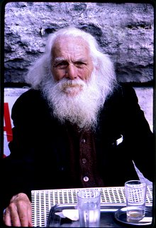 Man with White Beard, Rome 1978