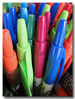 Retractable Sharpies