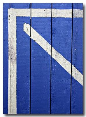 Blue Shed Door - Oakville, Ontario