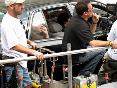 Len Wiseman Directs Bruce Willis - Baltimore Sep 28, 2006
