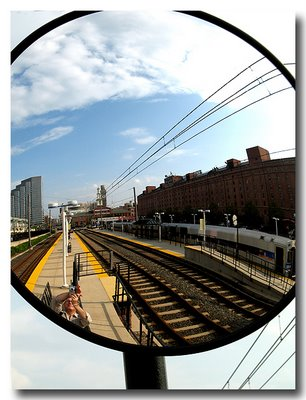 Camden Yards Light Rail Mirror - Baltimore