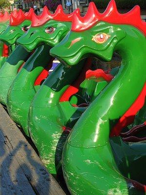 Dragons in the Morning - Baltimore Inner Harbor