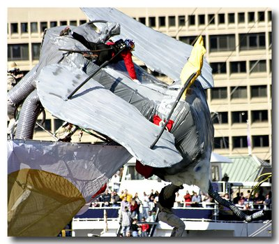 Flugtag Baltimore - Dumbo Crashes on Takeoff