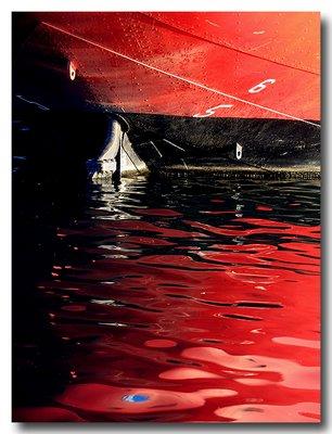 Lightship 'Chesapeake' (WLV-116) Reflection - Baltimore