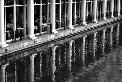 Loeb Boathouse - Better B&W using Scott Kelby's technique