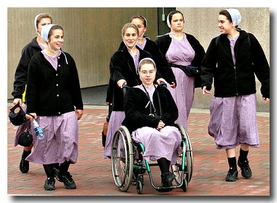 Mennonite Girls - Harborplace - Baltimore, MD