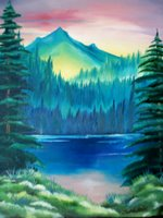 Serenity, Original on canvas, by Impressionist Artist Kimberley T. Walton