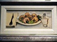 Escargot, Colored Pencil Drawing, by Impressionist Artist Kimberley T. Walton