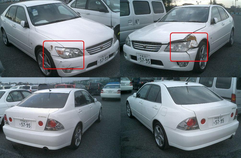 El Diario Del Jap 243 N Toyota Altezza 1 999 Mecanica Chocado