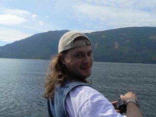 Я на озере Shuswap