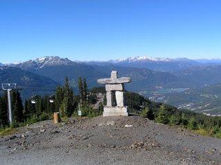 Вистлер, высота 1800 метров. Предок всех Медведов :)