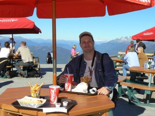 Обед на высоте 1800 метров