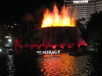 Las Vegas Mirage Volcano