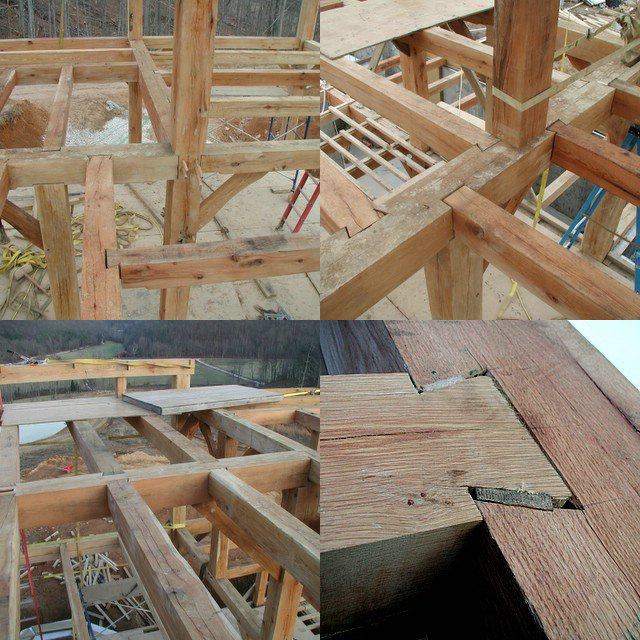 Building a timberframe home from scratch.: January 2006