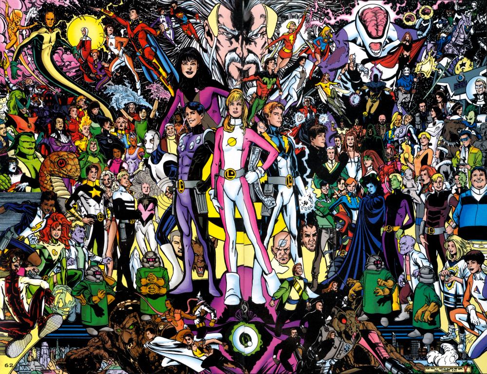Legion of Superheroes Members The Legion or a Member of