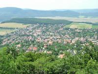 Kilátás Pilisborosjenő felé az Ezüst-hegyről