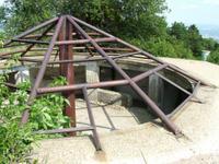 A világháborúból itt maradt egyik bunker