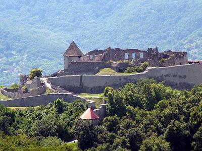A Fellegvár a Nagy-Villámról