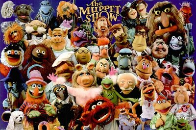 The Muppet Show Cast - click to enlarge