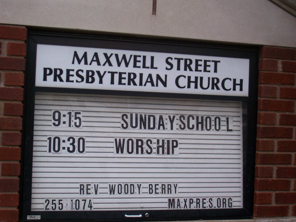 has had maxwell st presbyterian church lexington ky has