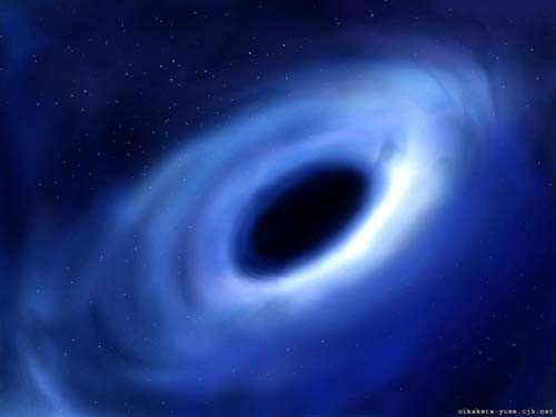 Stardust musings and thoughts for the freethinker january for Space time fabric black hole