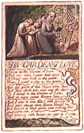 a literary analysis of garden of love by william blake Literature in english, stpm, wiliiam blake, a poison tree, literary analysis, analysis, stanza, by william blake, poem, reading, material, symbol.