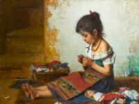 Alexei Alexeevich Harlamoff - The Little Seamstress