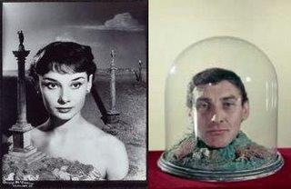 Angus McBean - Audrey Hepburn (1951) Spike Milligan (1961)