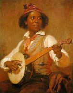 William Sidney Mount - The Banjo Player (1856)