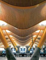 Barajas Airport, Madrid, Architect: Richard Rogers Partnership, Co-architect: Estudio Lamela. Photo: Manuel Renau.