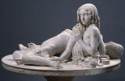 Lorenzo Bartolini - La Table aux Amours (1845)