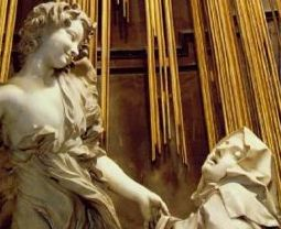 Bernini - The Ecstasy of Saint Theresa (detail)
