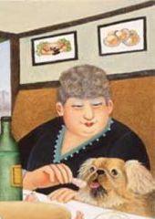 Beryl Cook - Bouillabaisse in Marseilles (2006) detail