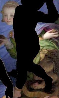 Bronzino - beastie with cherub removed