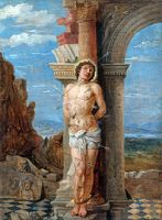 David Teniers - copy of Mantegna's Saint Sebastian