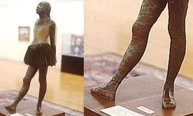 Edgar Degas - Little Dancer of 14 Years (1881)