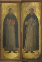 Fra Angelico - Two Panels from an Altarpiece (1439)