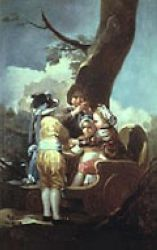 Goya - Children with a Cart (1778)