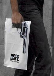 Plastic carrier bag with magnum force