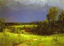 Ivan Shishkin - Gathering Storm (1884)