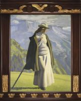 Jens Ferdinand Willumsen - A Mountaineer (1904)